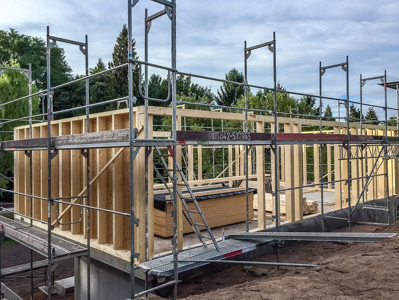 Holzrahmenbau - Konstruktion - Saarbrücken