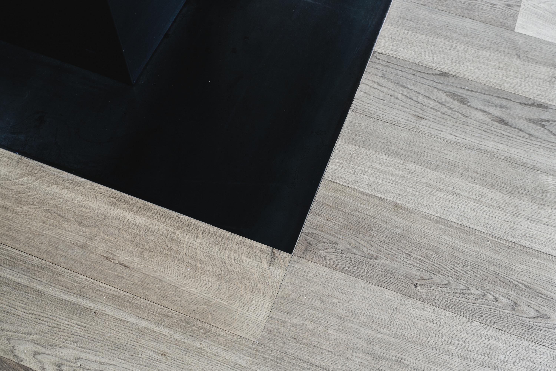 Stahlplatte als Funkenschutz