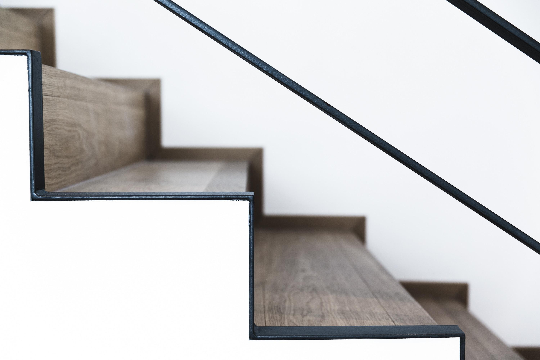 Treppendetail Stahl