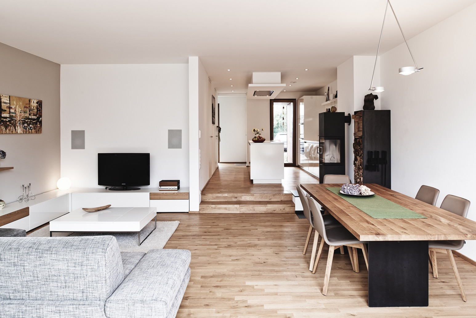 Wohnbereich Reihenhaus - Bellevue 2.0