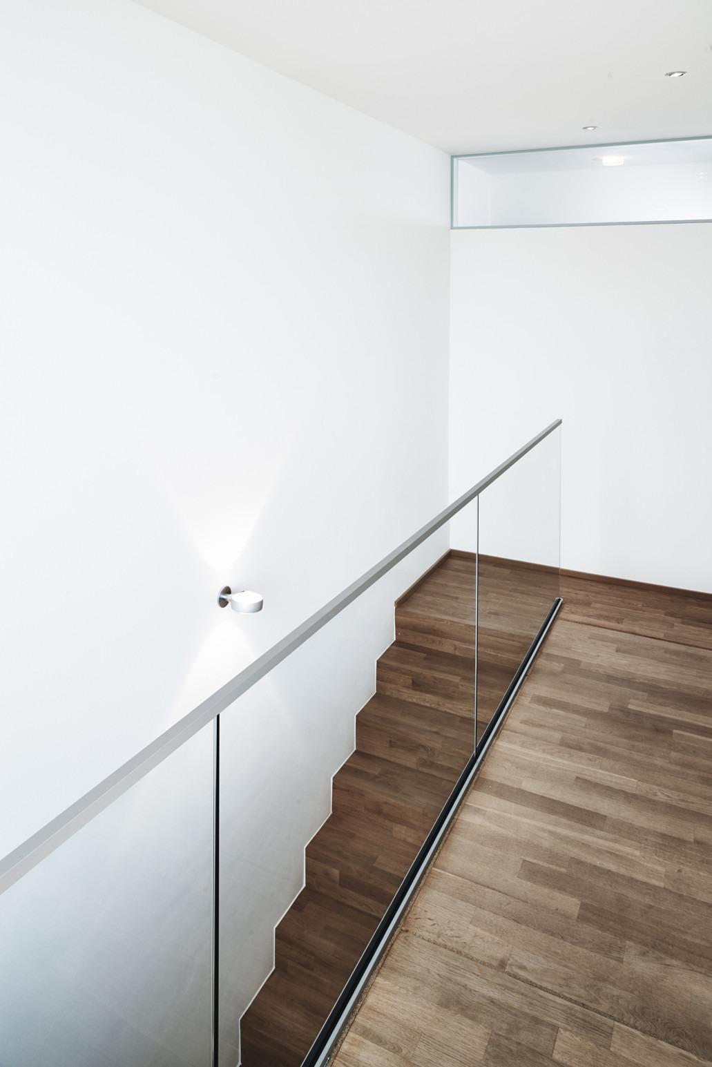 Glasbrüstung Treppe - Bellevue 2.0