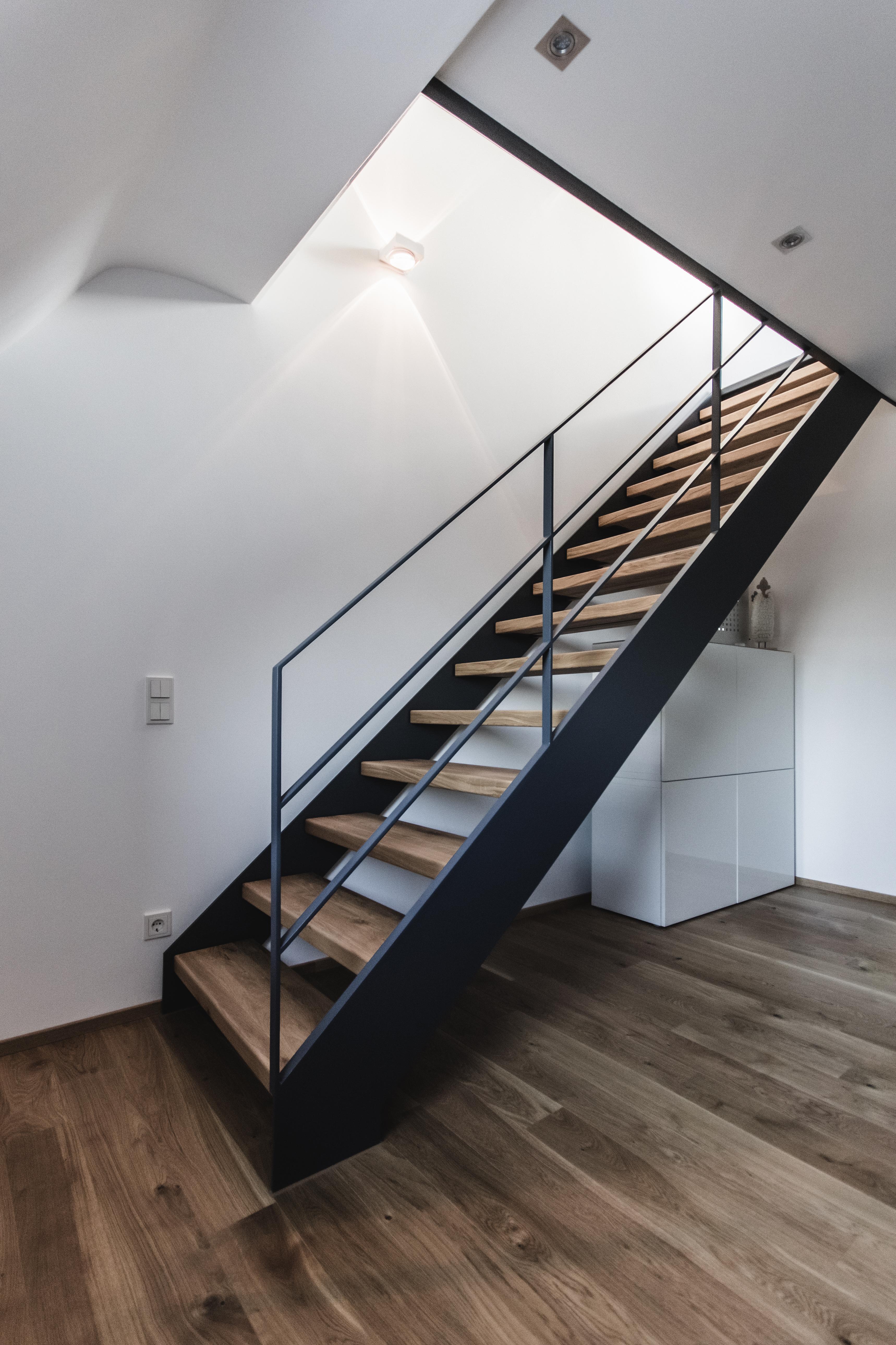 Stahlinnentreppen Wohnung - Saarbrücken